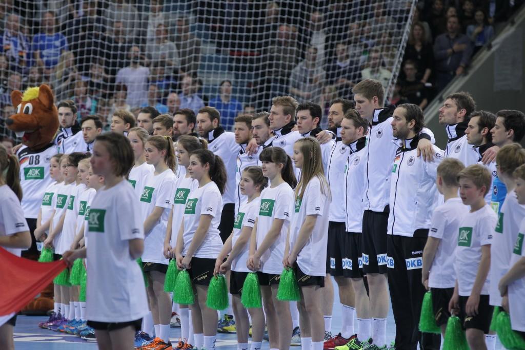 Handball Testspiel Deutschland  vs. Österreich
